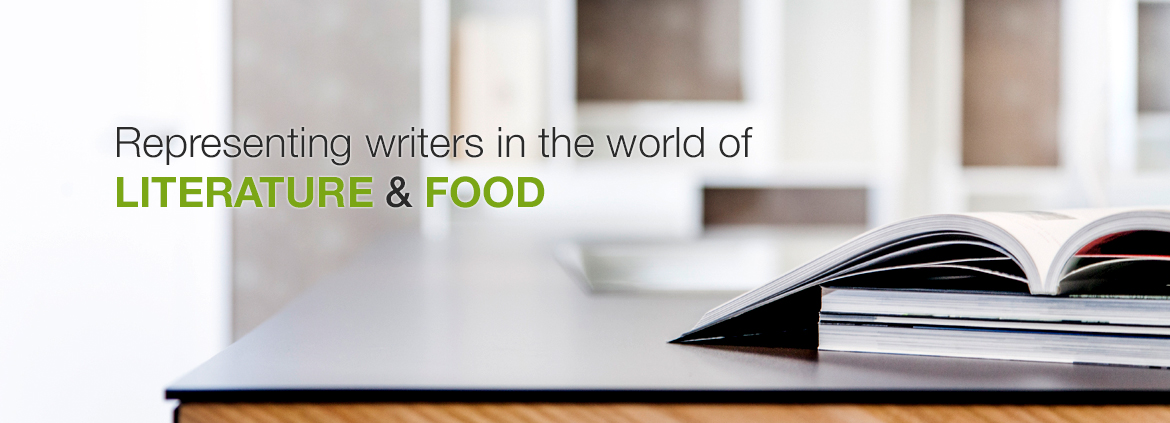 Representing writers in the world of literature and food